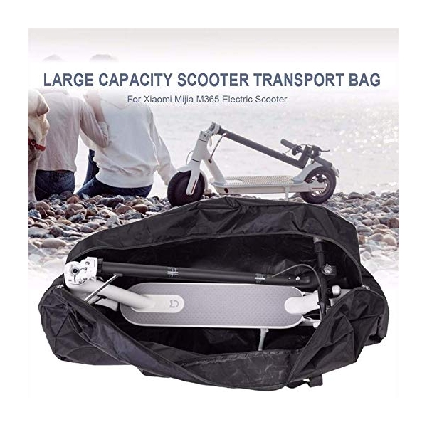 Yungeln Portable Waterproof Handbag Oxford Cloth Folding Storage Bag Carrying Bag Compatible for XIAOMI Mijia M365 Electric Scooter 110 45 50cm Travel Carrying Bag