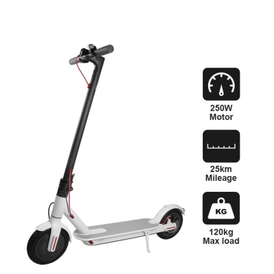 8.5 inch Xiaomi M365 2 wheel electric kick scooter with seat